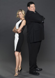 Brooke Burns and Mark (The Beast) Labbett (Two)