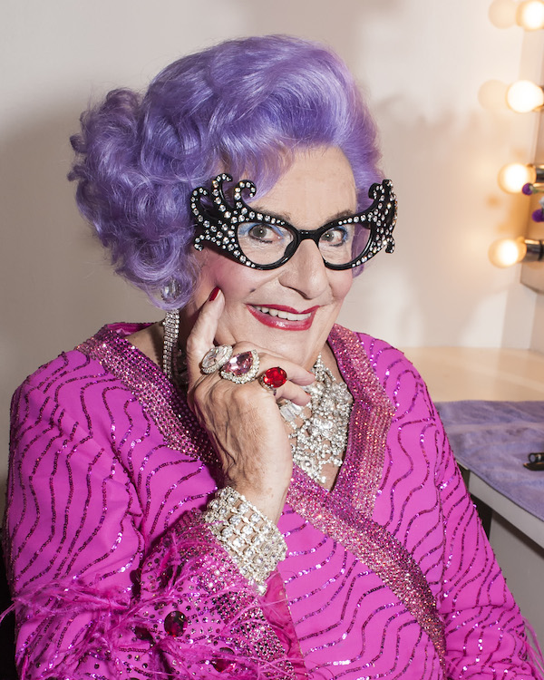06 Dame Edna National Theatre April 21-26 Photo by Craig Schwartz
