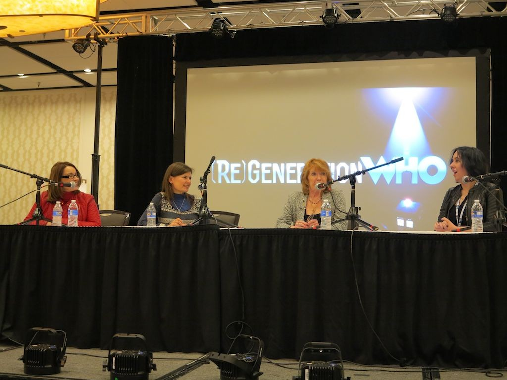 The Companion Panel of Nicola Bryant, Sophie Aldred and Deborah Watling