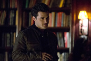 "The Vampire Diaries -- ""I'd Leave My Happy Home for You"" -- Image Number: VD620a_0054.jpg -- Pictured: Michael Malarkey as Enzo -- Photo: Wilford Harewood/The CW -- © 2015 The CW Network, LLC. All rights reserved."