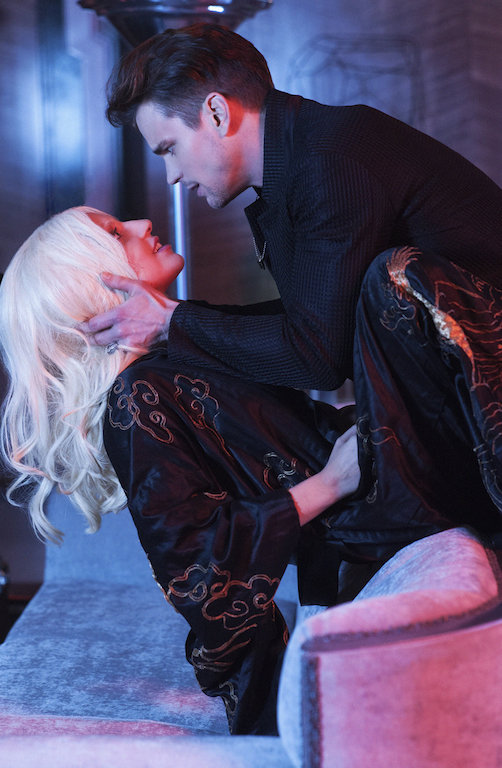 Pictured: (l-r) Lady Gaga as the Countess, Matt Bomer as Donovan. CR: Suzanne Tenner/FX