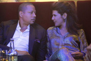 "EMPIRE: L-R: Terrence Howard and guest star Marisa Tomei in the ""True Love Never"" episode of EMPIRE airing Wednesday, Nov. 11 (9:00-10:00 PM ET/PT) on FOX. ©2015 Fox Broadcasting Co. Cr: Chuck Hodes/FOX."