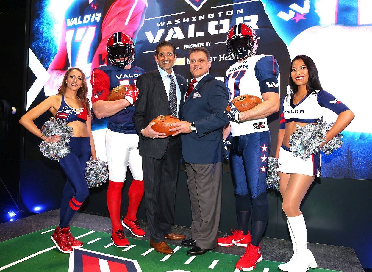 washington-valor-uniform-unveiling-group-photo