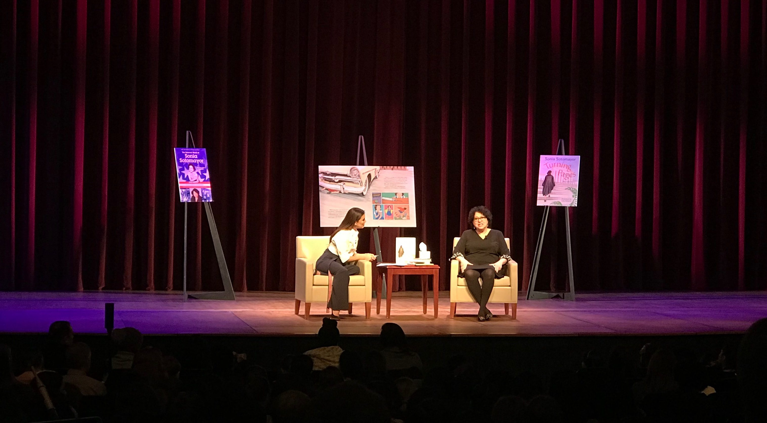 A Conversation with Justice Sonia Sotomayor & Eva Longoria Bastón. Photo Credit: Jaya Ghosh